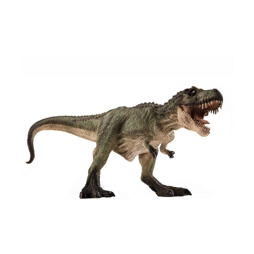387293 Фигурка Mojo (Animal Planet)-Тираннозавр V2, цвет зеленый (Deluxe)Фигурка тираннозавра выполнена в реалистичной манере и с высокой точностью  передаёт его внешний вид и характерную позу, служит для изучения детьми животного мира и использования в сюжетно-ролевых играх. Фигурка сделана  из высококачественных,  безопасных материалов с максимальной точностью и раскрашена вручную стойкими безопасными красками. Повышена устойчивость к механическим повреждениям при падении на пол и неосторожном обращении. Дети могут включить фигурку Тираннозавр в свой зоопарк, или коллекцию; использовать при игре в Парк Юрского периода  и в других сюжетах .<br>