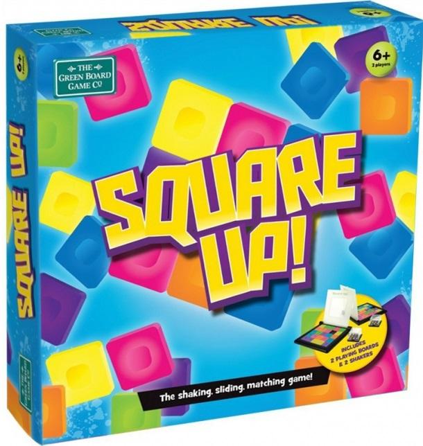 Игра настольная Сквеар АпИгра Square Up!Игра Square up! отлично подойдет для детей и взрослых и станет хорошим развлечением на вечер.Тренирует у детей сообразительность и терпение. Развивает зрительную память.Цель игры: как можно быстрее изобразить сочетание цветов на своем игровом поле, передвигая квадратики в горизонтальном и вертикальном направлении.Квадратики нельзя поднимать, а можно только передвигать!Игра состоит из двух полей и двух кубиков.Каждое поле имеет по 25 плоских квадратов разных цветов, а каждый кубик состоит из 9 маленьких кубиков с разноцветными поверхностями. Перед игрой, каждый встряхивает свой кубик и передает его другому игроку. Из этих кубиков образуется цветное поле. Игроки должны, как можно быстрее изобразить сочетание цветов на своем игровом поле, передвигая квадратики в горизонтальном и вертикальном направлении.Кто быстрее справится с задачей, тот станет победителем.Игровое поле и кубики сделаны из пластика.Игра закрывается крышкой, ее очень удобно брать с собой в путешествия.<br>