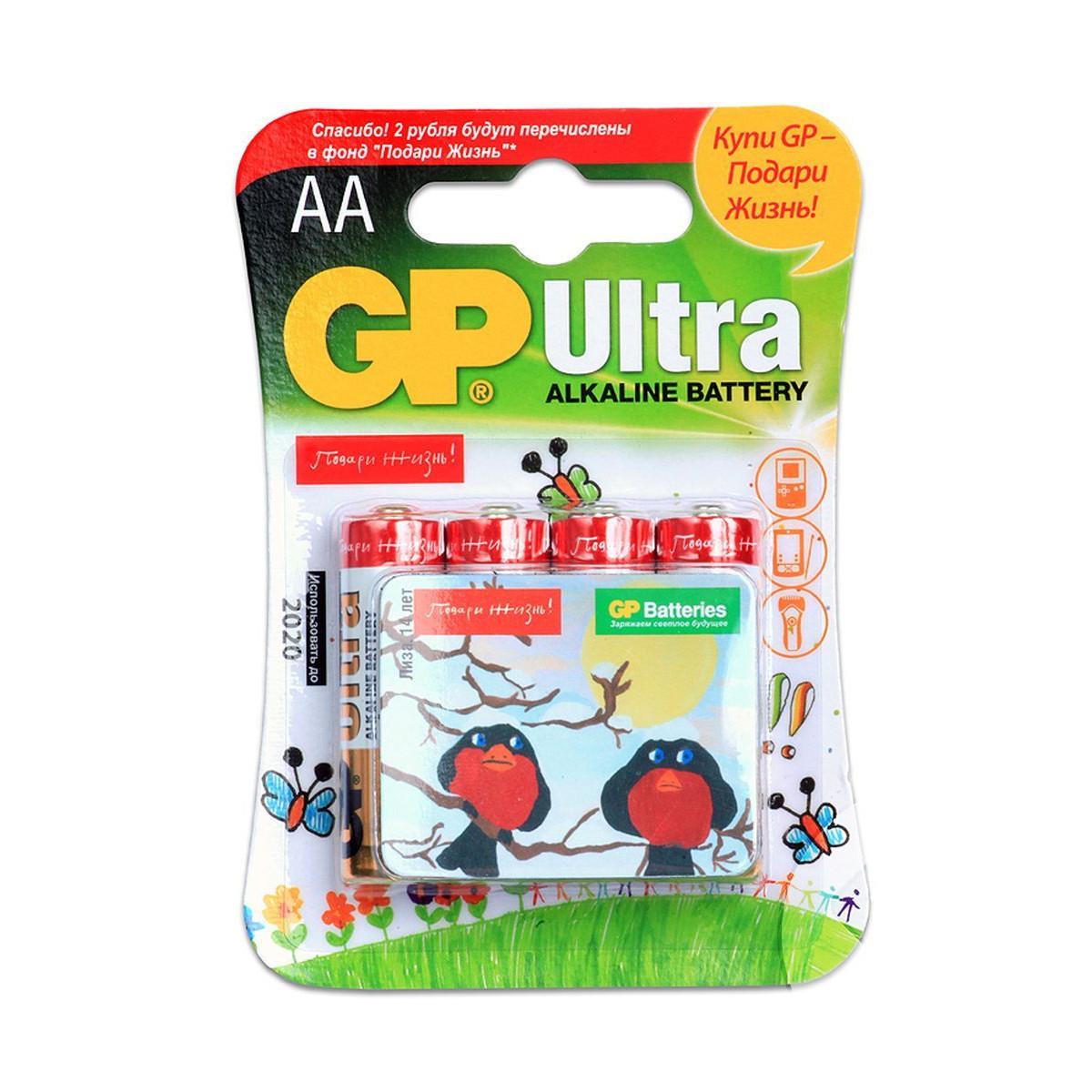 Батарейка GP 24 Ultra AAA, с магнитом Подари Жизнь, в блистере 3 шт.Алкалиновая батарейка GP 24 Ultra, вместе с которой продается магнит Подари жизнь, имеет размер AAА, LR03, четыре изделия упакованы в блистер. Такая  покупка приносит пользу не только вам - часть средств, полученных за нее, будет перечислена в фонд Подари жизнь. Кроме того, изделие обладает отличным качеством, оно подходит для обеспечения энергией различных приборов - пультов, радио и игрушек. Приобрести набор батареек можно в магазине Hamleys - там вы встретите приятные цены. Также покупку можно совершить и на сайте. Покупатели, которые уже приобрели данный товар, оставляют хорошие отзывы. Условия доставки магазина Hamleys очень удобны - в Москве, Санкт-Петербурге и Краснодаре действует курьерская доставка по адресу с оплатой наличными или карточкой, а во всех остальных городах России можно оплатить покупку с помощью наложенного платежа.<br>
