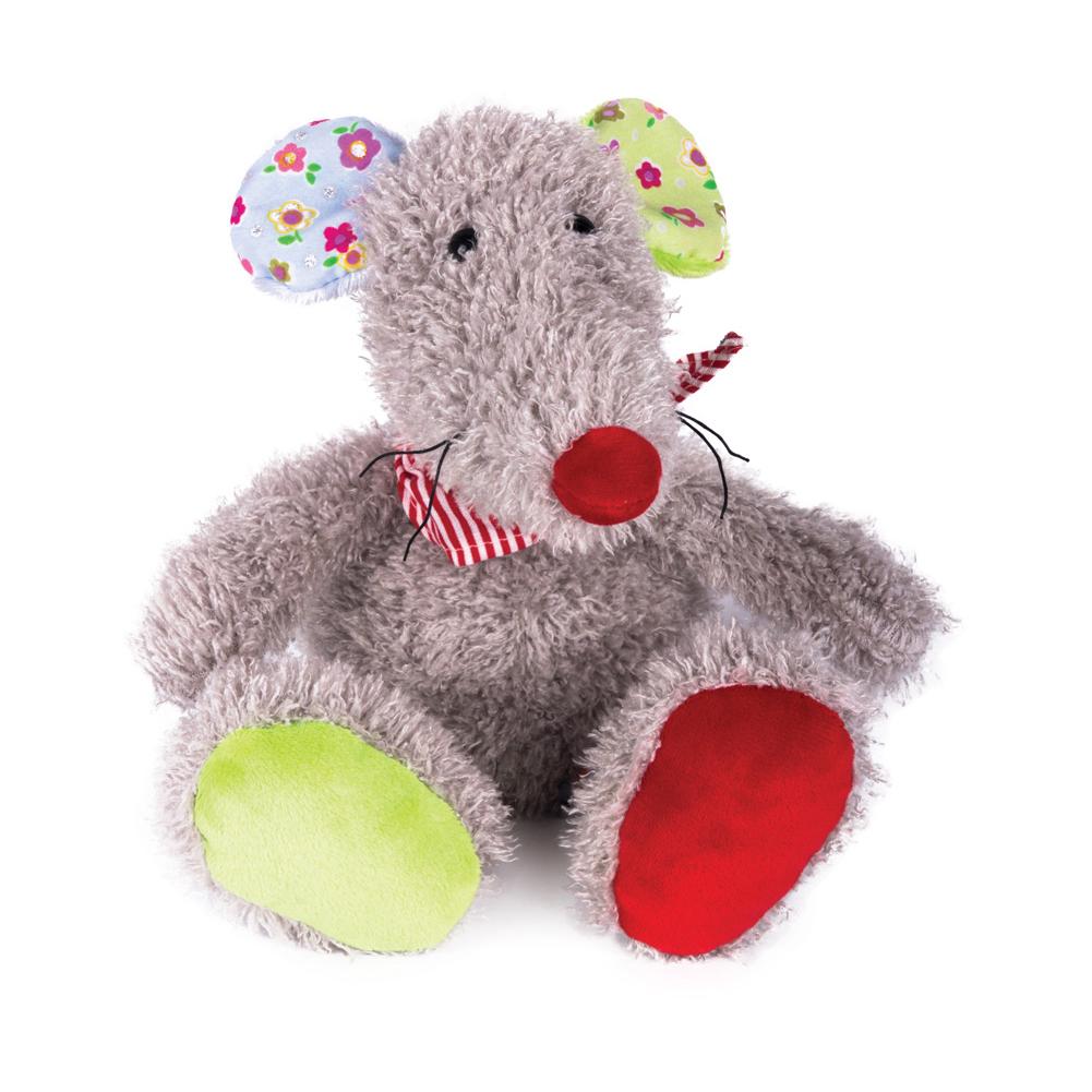 Мышка Маришка, 17 смМягкая игрушка Мышка Маришка от торговой марки Gulliver очень милая и интересная. Такая игрушка полюбится многим детям и даже может стать для них одной из любимых. Мягкое чудо представляет собой очаровательную мышку, лапки и ушки мышонка выполнены в ярких цветах, а шею украшает красно-белая повязка.<br>