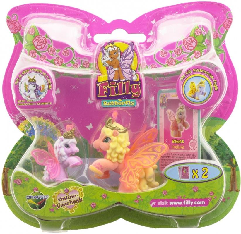 Купить Набор игровой Dracco Filly Бабочки Волшебная семья