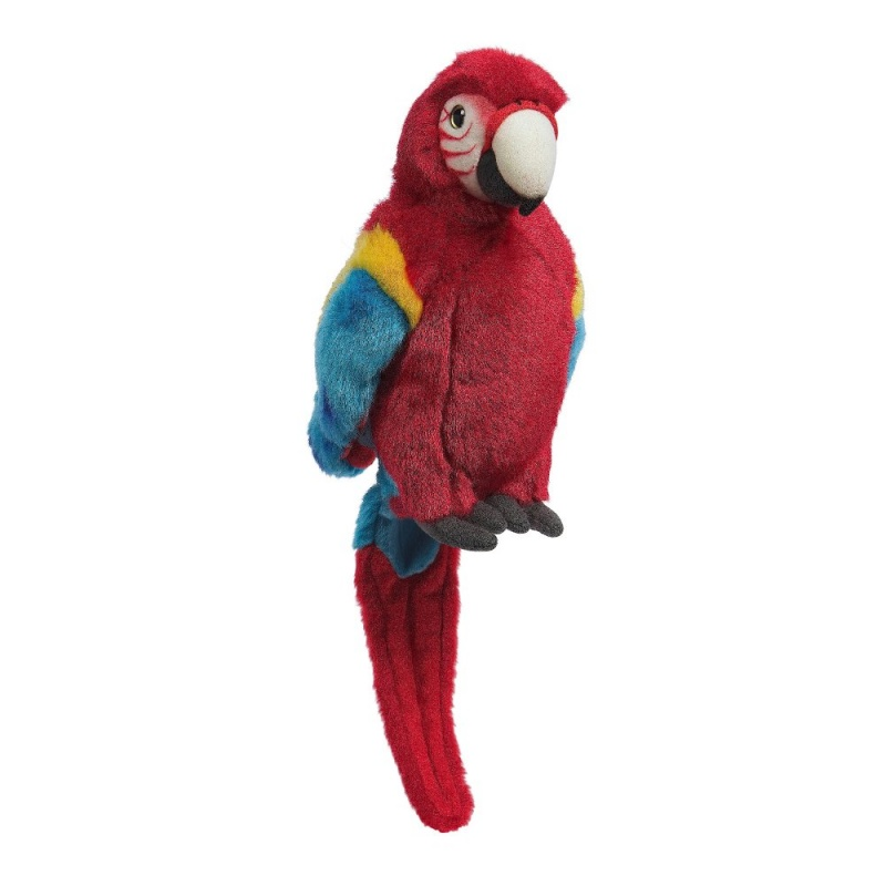 Игрушка плюшевая Красный ПопугайЭтот красивый попугай, может служить дополнением к пиратскому костюму. Является прекрасным дополнением коллекции Hamleys.<br>