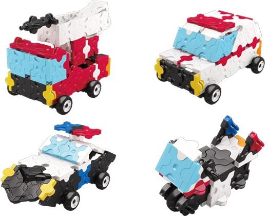 Констркутор LAQ FireTruck , 170 деталейНастоящие спасатели всегда придут на помощь!Собери свой отряд смельчаков спасателей из детского набора конструктора LaQ серии Hamacron, состоящего из 170 частей 7 цветов (красный, синий, желтый, голубой, оранжевый, белый, черный)В наборе инструкция для 4 моделей<br>