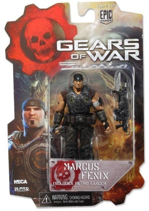 все цены на  Фигурка Neca Gears of War 3 3/4 Series 1 - Marcus Fenix Bloody Variant  онлайн