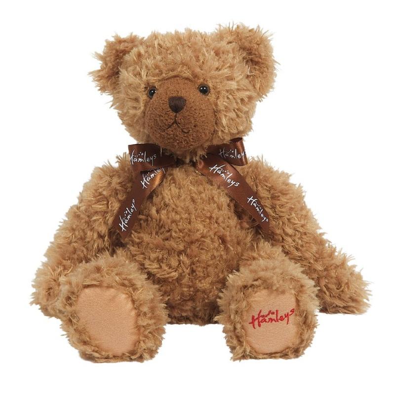 Игрушка плюшевая Медведь, песочный, 27 см.Медведь Hamleys будет твоим самым близким другом| дай ему стакан молока и шоколадный бисквит и он будет твоим навсегда. Коллекция супер мягких плюшевых медведей Hamleys созданы быть спутниками на всю жизнь и являются отличным подарком на долгую память. Замечательно подходят как для повседневных игр| так и для крепких объятий во время сна.<br>