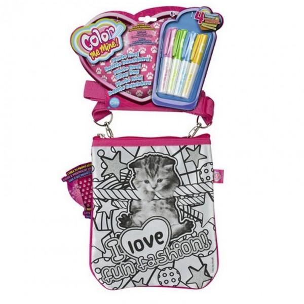 Сумка Color Me Mine с фото котенка (4 маркера) color me mine рюкзак 5 перманентных маркеров