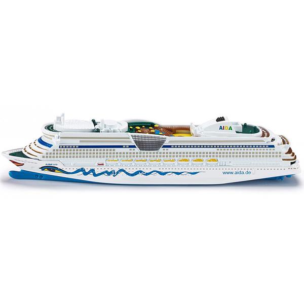 Круизный лайнер, 1:1400Игрушечная модель круизный лайнер.Размер игрушки:18.2 x 2.3 x 3.8 см<br>