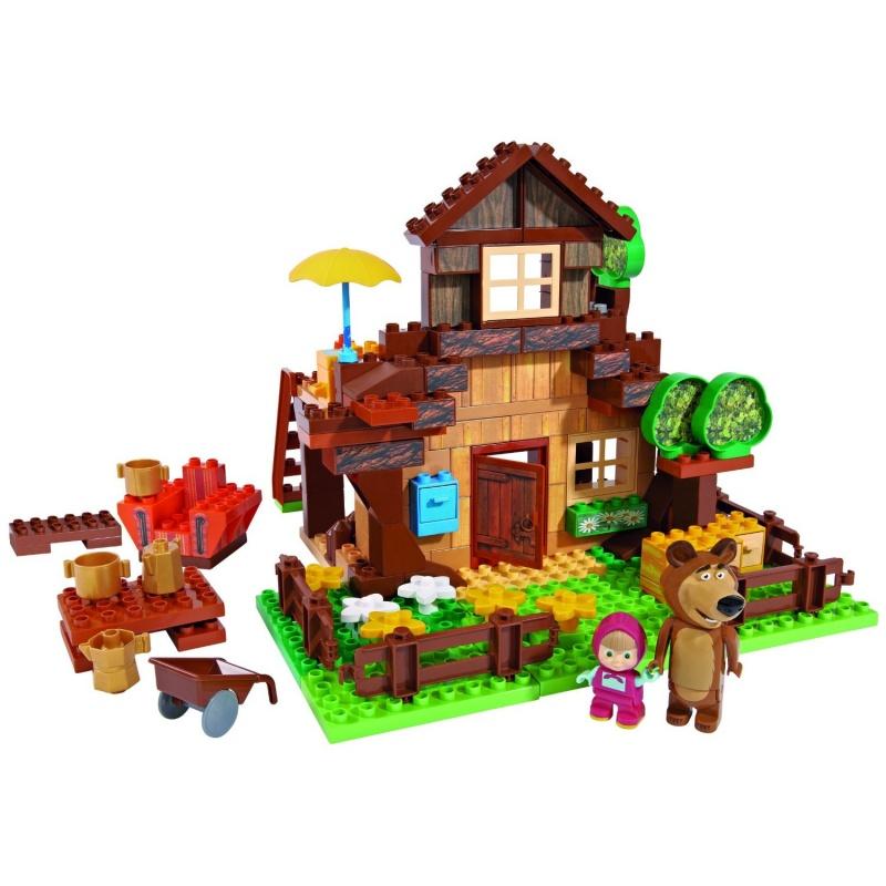 Купить Конструктор Маша и Медведь - Дом Мишки, 162 дет.