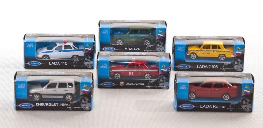 Модель машины 1:60, отечественные модели, 20 видов в ассортиментеwelly 52020R Велли Модель машины 1:60, отечественные модели в ассорт. 20 видов Отечественные модели в ассорт. 20 видов.<br>