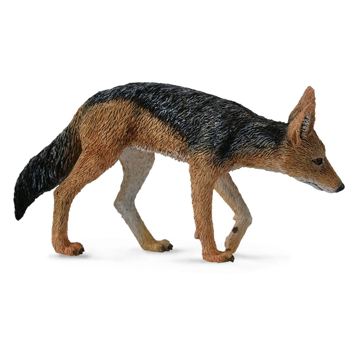 Фигурка животного Чепрачный шакал, длина 7.7 смФигурка животного Чепрачный шакал сможет порадовать как мальчишек, так и девчонок. Фигурка тщательно проработана, благодаря чему ее внешний облик практически не отличается от настоящего животного. Такая фигурка сможет прекрасно вписаться в коллекцию игрушечных животных, а также стать игрушкой, которую можно использовать в различных игровых сюжетах.<br>