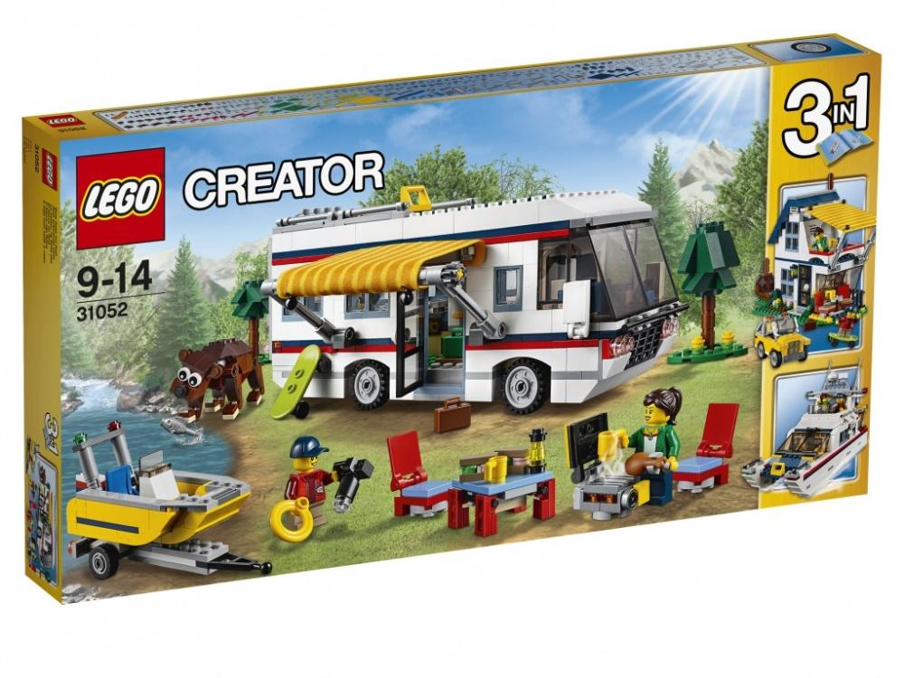 Конструктор Lego Creator 31052 Кемпинг купить алюмакрафт бу моторную лодку