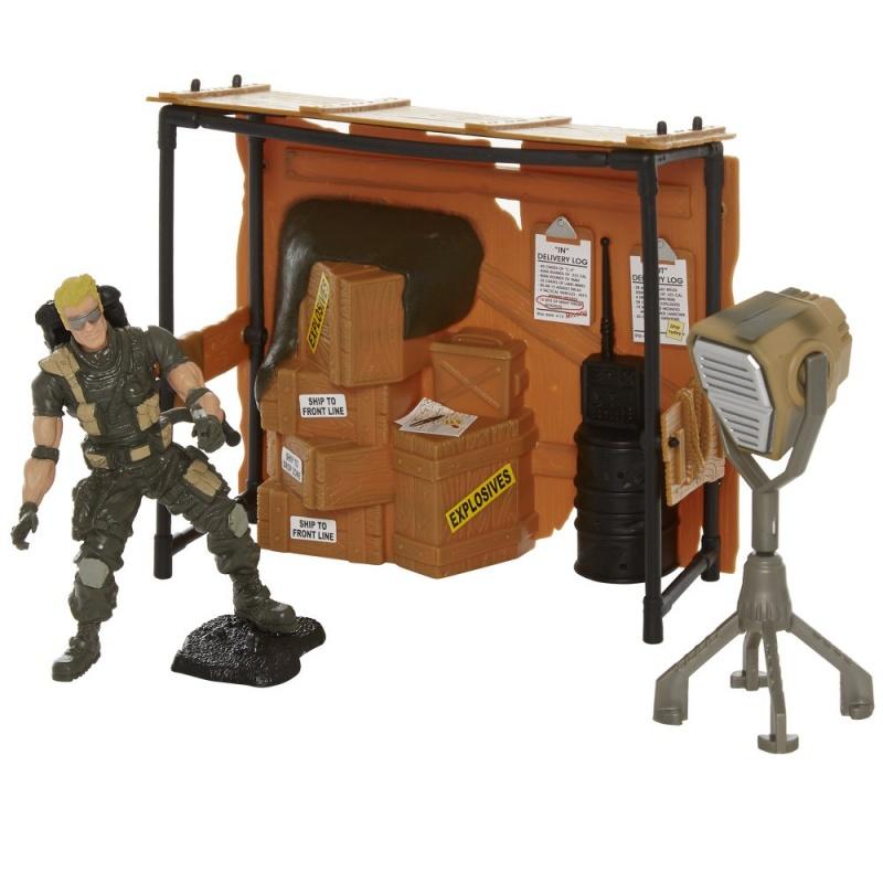 Набор Hamleys Военная БазаЭтот замечательный набор подарит вашему ребенку незабываемое путешествие в мир военных игр.<br>