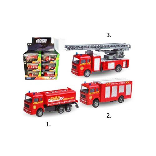 Металлическая пожарная машина Fire Truck, 1:60 машинки autotime машина uaz 31514 ваи