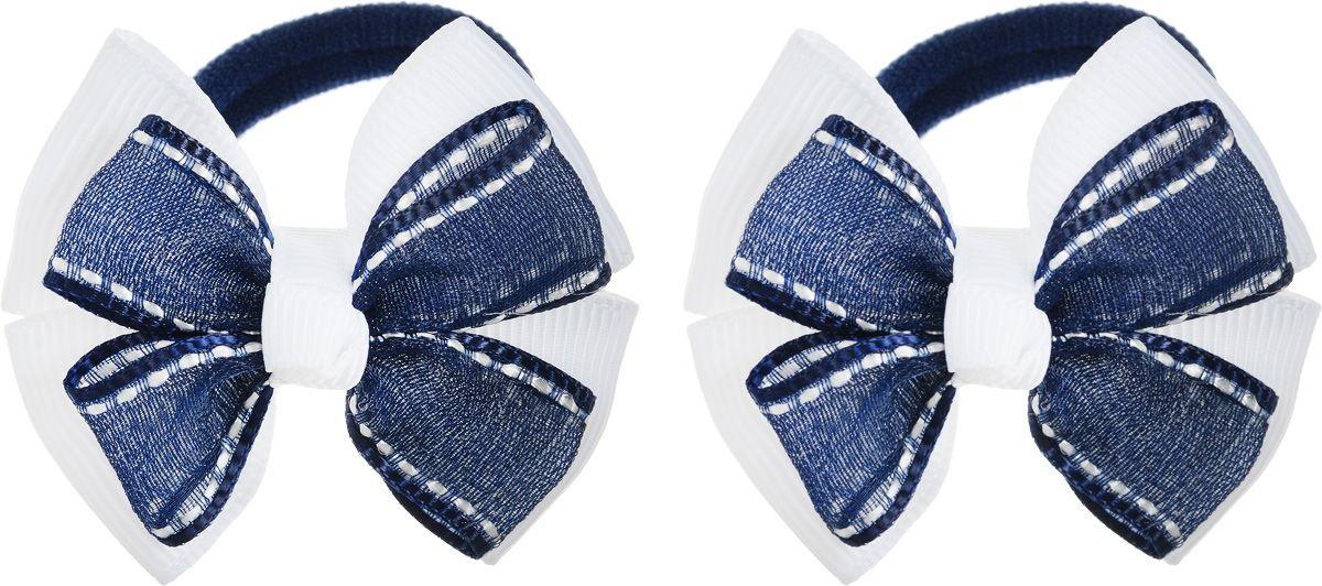 Baby's Joy Резинка для волос 2 шт цвет белый темно-синий baby s joy резинка для волос цвет оранжевый 2 шт al 970