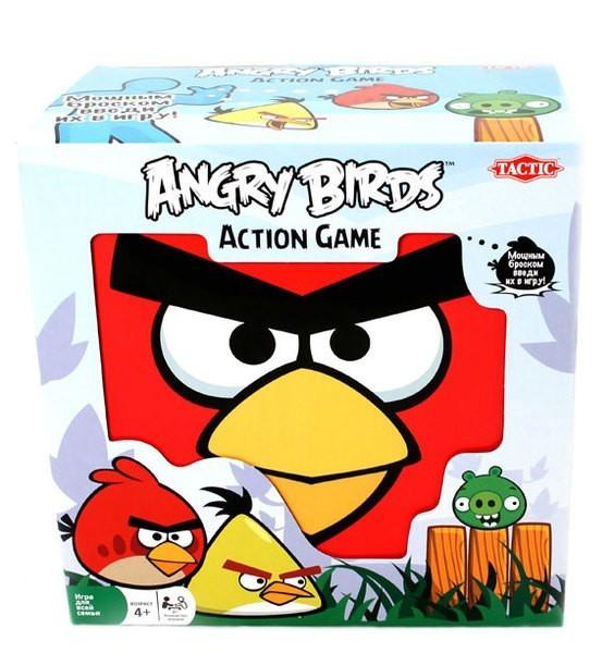 Настольная игра Tactic Games Angry Birds  игра печатная tactic angry birds 40587n