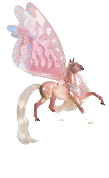 Лошадка с крыльями Бриза, серия Танцы ветраВсе лошадки серии Wind Dancers созданы мастерами компании Breyer. На данный момент продукты компании Бреер являются самыми реалистичными копиями лошадей благодаря точности линий, проработке мелких деталей и ручной росписи. Все это позволяет сделать каждую лошадь особенной и абсолютно не похожей на других.Бриза такая же красочная, как тропический закат.Бриза модница, ее блестящие грива и хвост белого цвета, а мерцающие крылья шелковые. Бриза любит все, что блестит и окружена ореолом магических камней на шее. Она является звездой второй книги Танцы Ветра. Эти книги издаются Feiwel and Friends, Macmillan Publishers.L * H - 11,4 * 9 смЛошадка упакована в блистерную упаковку. Изготовлена из высококачественного материала, абсолютно безопасна в использовании, рекомендована детям от 4-х лет.Производитель: Breyer (США).<br>
