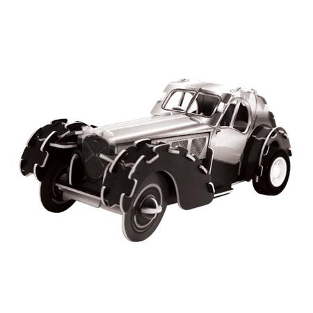3D Пазл Ретро автомобиль 57SC Coupe, инерционныйМодель ретроавтомобиля 57SC Coupe (с инерционным механизмом), которая собирается с помощью 3D пазла-конструктора Размер упаковки: 17 x 12 см<br>