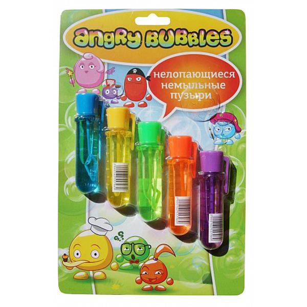 Игрушка немыльные пузыри в блистере (5 шт)