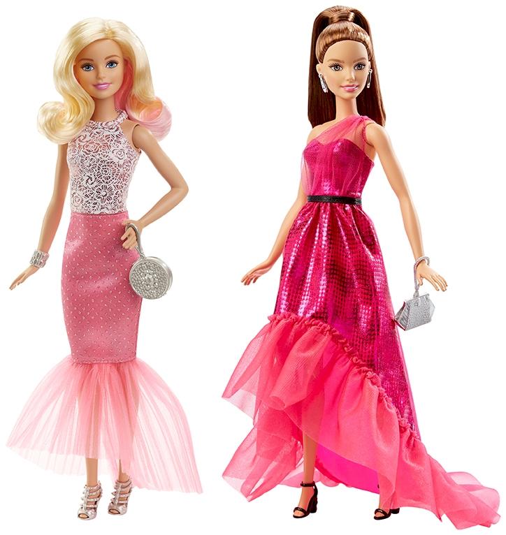 BARBIE® Куклы в вечерних платьях в ассортименте barbie серебристо розовое платье с аксессуарами барби
