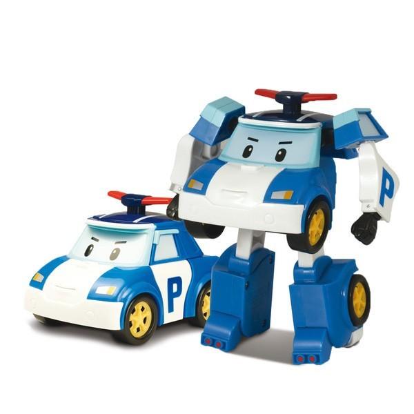Машинка-трансформер Silverlit Robocar Poli Поли 10 смПолицейская машинка Поли легко трансформируется в робота и обратно (трансформация ручная).У робота подвижные руки и ноги.Полицейская машинка Поли это главный герой команды спасателей из мультсериала про полицейскую машинку-робота Поли и его друзей живущих в необычном городке Брумстаун, в котором машины живут наравне с людьми. Поли добрый и смелый полицейский, готовый в любое время дня и ночи придти на помощь любому, с кем случится беда.<br>
