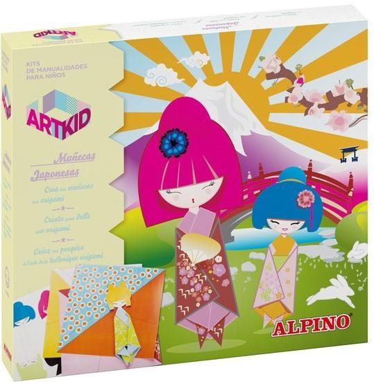 Набор для детского творчества Куклы-оригами куклы