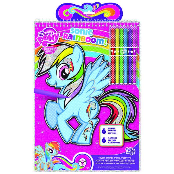 Постеры My Little Pony Звуковая радуга fashion angels набор бархатных постеров страшно красивые