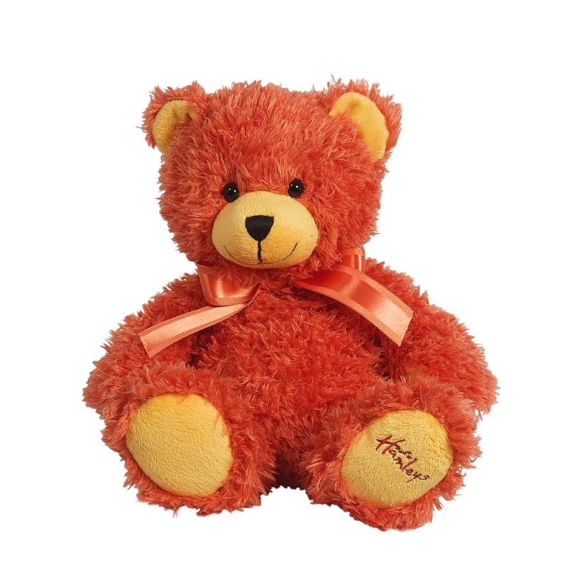 Купить Игрушка плюшевая Медведь , апельсиновый, 25 см.