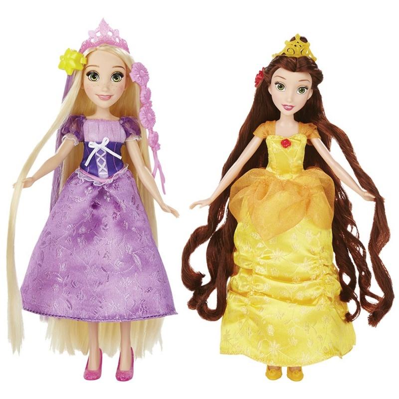Купить Базовая кукла Принцесса в с длинными волосами и аксессуарами в ассортименте
