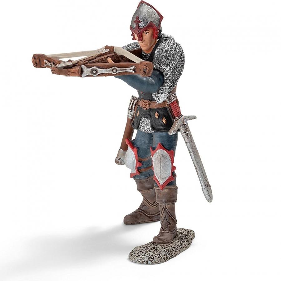 Рыцарь с арбалетом, Орден Дракона конный рыцарь в турнирном доспехе xvi век европа оловянная миниатюра авторская работа