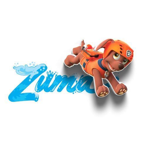 Светильник 3D Paw Patrol Zuma Mini