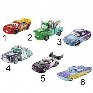 Тачки. Машинки, меняющие цвет в ассортиментеМашинки Тачки из серии Измени цвет от компании Mattel - это точные копии оживших машинок из популярного мультфильма. Но главное не это, а то, что данные игрушки могут изменять цвет. Теперь можно тюнинговать автомобиль самостоятельно. Для этого нужно л<br>
