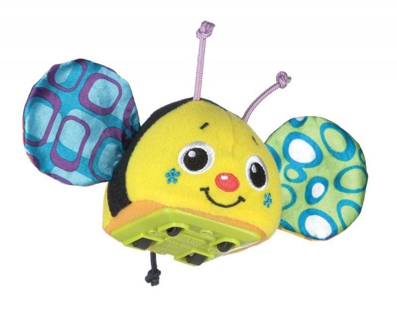 Playgro Игрушка инерционная Пчелка 0183040 игрушки подвески playgro игрушка подвеска пчелка
