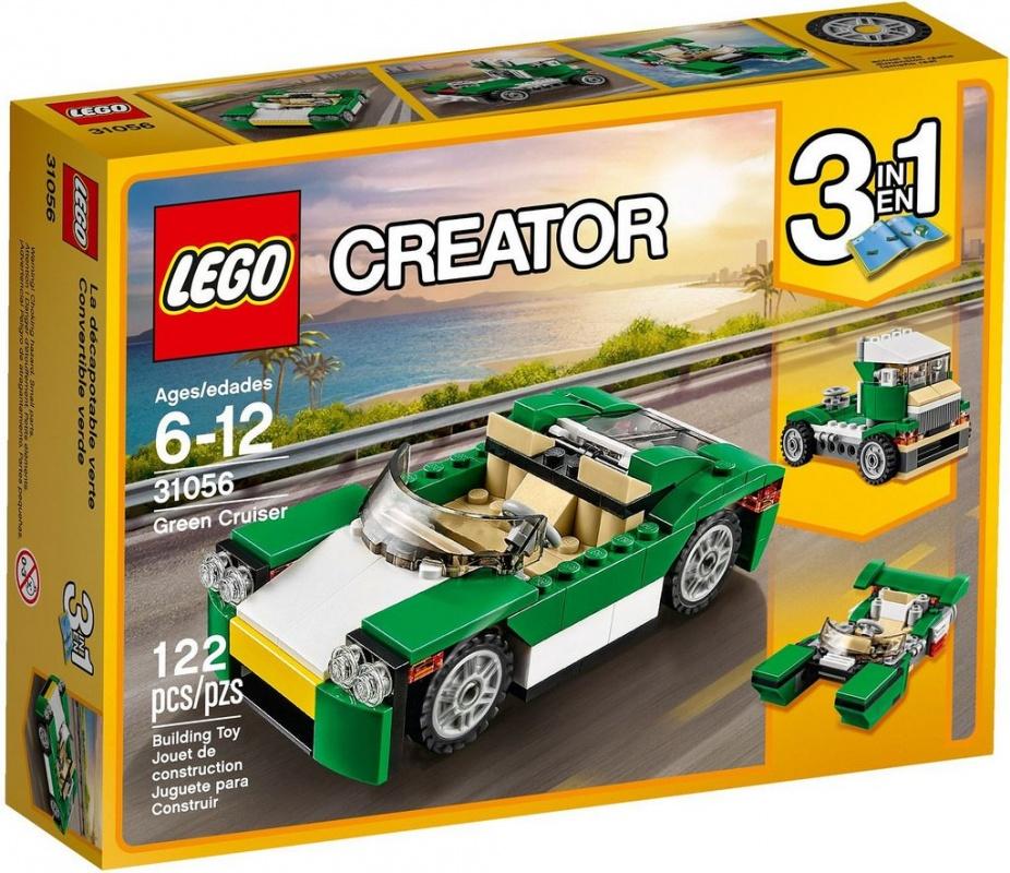 """Купить со скидкой Конструктор Lego Creator """"Зелёный кабриолет"""""""