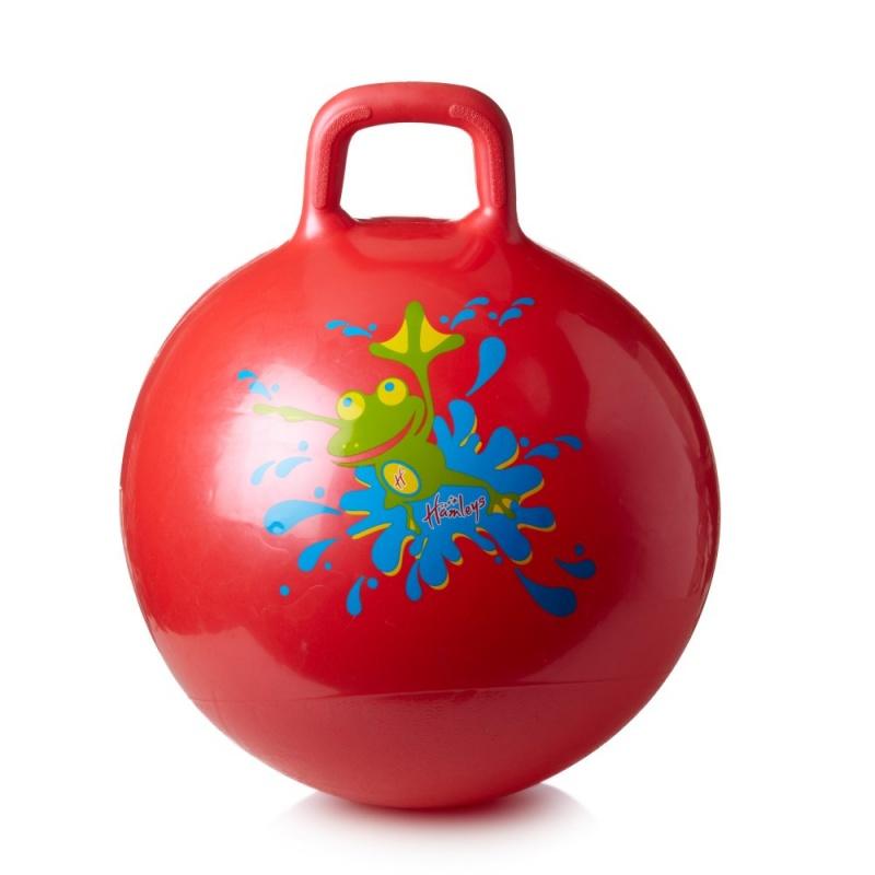 Игрушка Hamleys Мяч ПопрыгунВесело пропрыгай свой путь вместе с этим ярким мячом. Этот красный надувной спортивный друг очень прыгучий и подходит для игры дома и на улице. Мяч имеет диаметр 137 см. в надутом состоянии. Отлично подходит для детей от 3-х лет. На старт, внимание, марш! Устрой соревнование за первое место!<br>