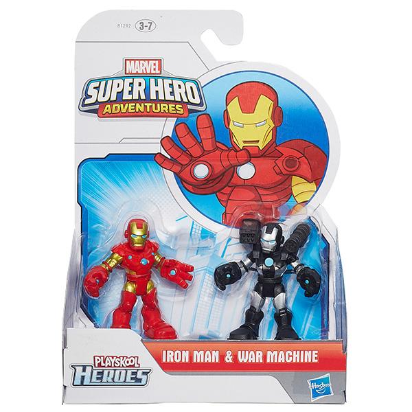 ГЕРОИ МАРВЕЛ 2-в-1Новинка бренда Hasbro - набор из двух фигурок героев самых популярных комиксов Marver. В ассортименте игрушек вы наверняка сможете найти любимого персонажа комиксов, мультфильмов или кино - супергероя а также его заклятого врага, злодея. Ассортимент представлен следующими наборами: Железный Человек и Воитель, Капитан Америка и Сокол, Человек-Паук и Веном, Человек-Паук и Зеленый Гоблин, Человек-Паук и доктор Октопус, Человек-Паук и Ящер, Халк и Соколиный Глаз.Фигурки выполнены из высококачественного материала, выглядит красочно и очень эффектно. У героев подвижны руки и ноги, что сделает сюжетно-ролевую игру еще более интересной и увлекательной. Ребенок сможет разыгрывать любимые сцены битв персонажей, либо придумывать собственные сюжеты.Игрушка представлена в ассортименте, при оформлении заказа на сайте выбранный вариант в поставке не гарантирован. Вы можете Фигурку героев Марвел Playskool Heroes 2-в-1<br>