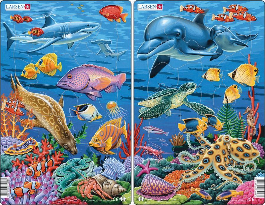Пазл Коралловый риф Larsen H23 хабы риф на киа спортейдж 1