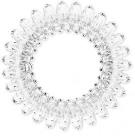 Резинка для волос Beauty Bar, прозрачная резинка спиралька для волос