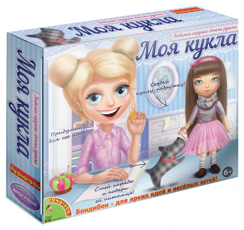 Купить Набор для шитья Досуг с Буки - Моя кукла, брюнетка