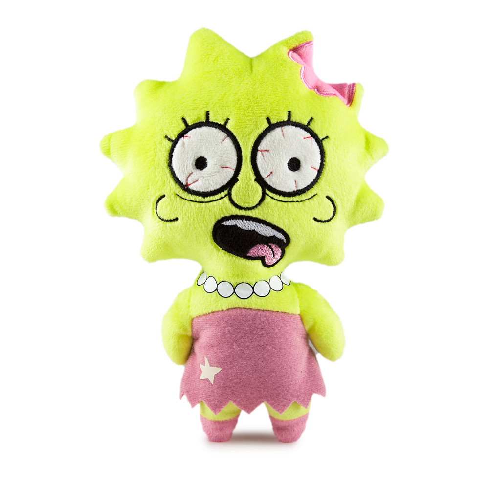 Купить Мягкая игрушка Simpsons Zombie Lisa 20 см