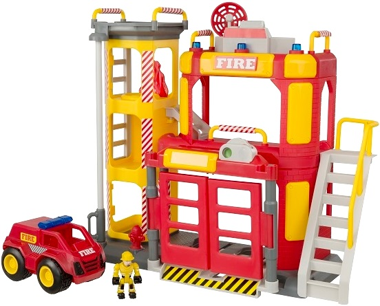 Большая пожарная станция Teamsterz каталог prosto tak