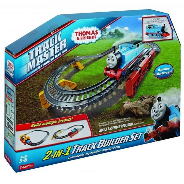 Томас и его друзья Стартовый наборБазовый игровой набор 2 в 1 Томас и его друзья от американской компании Fisher-Price — это увлекательная игра по мотивам одноименного мультфильма. Ребенок сможет собрать железную дорогу и отправить по ней Томаса в путешествие, направить его вверх по мосту или наоборот в тоннель. Придумать свои сюжеты игры и интересные события. Все детали набора Томас и его друзья сделаны из высококачественной пластмассы и безопасны для здоровья.<br>