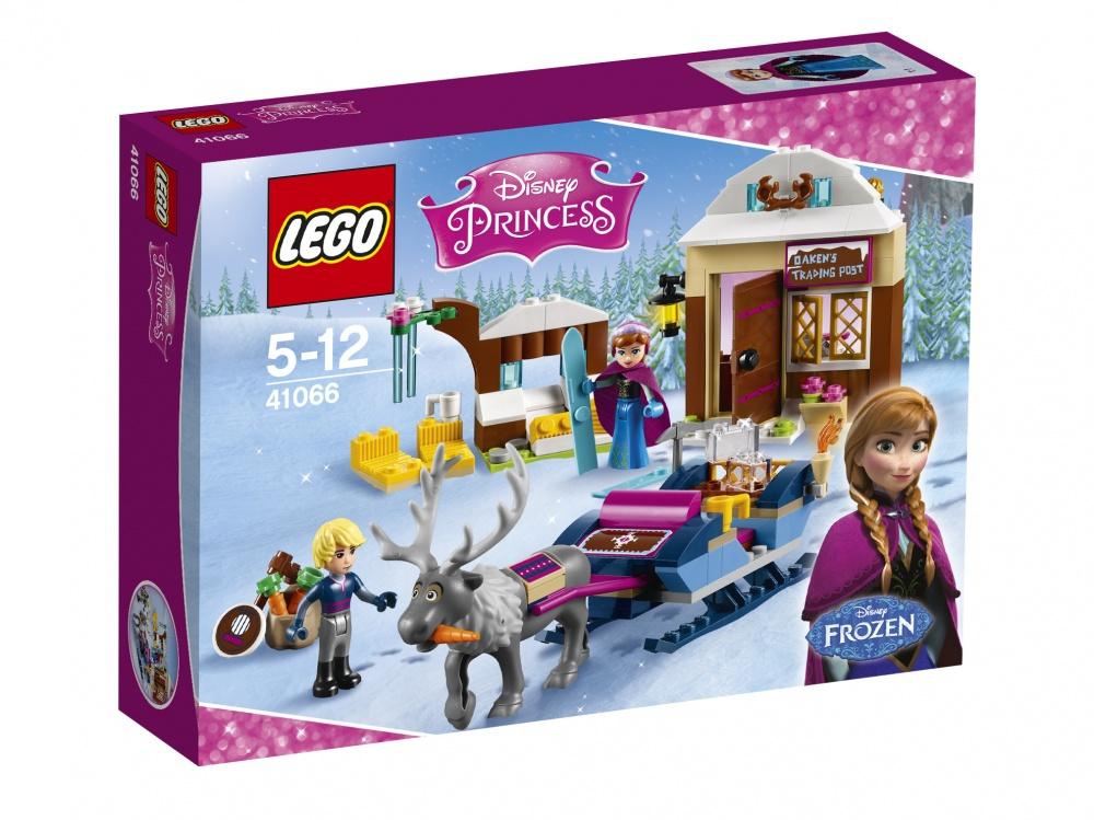 Конструктор Lego brand Disney Princess 41066 Анна и Кристоф: прогулка на санях конструктор lego disney princesses анна и кристоф прогулка на санях 174 элемента 41066