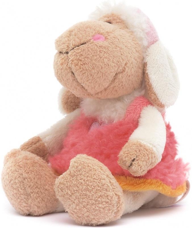 Овечка Фрэнсис Nici сидячая, 15смМаленькие габариты этой мягкой игрушки позволят взять ее с собой в долгую и скучную поездку, чтобы развлечь ребенка. Френсис одета в милый розовый сарафанчик и имеет весьма дружелюбную мордочку. Овечка сделана из мягких, приятных на ощупь материалов.Овечка Фрэнсис — персонаж уже набравшей популярность линейки мягких игрушек от известного немецкого производителя Nici. Игрушки этого бренда славятся качеством материалов и дизайном, который может заставить улыбнуться не только ребенка, но и взрослого человека.<br>
