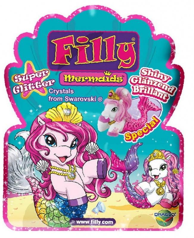 """Купить со скидкой Игровой набор коллекционная лошадка Filly - """"Русалочка. Супер блеск"""""""