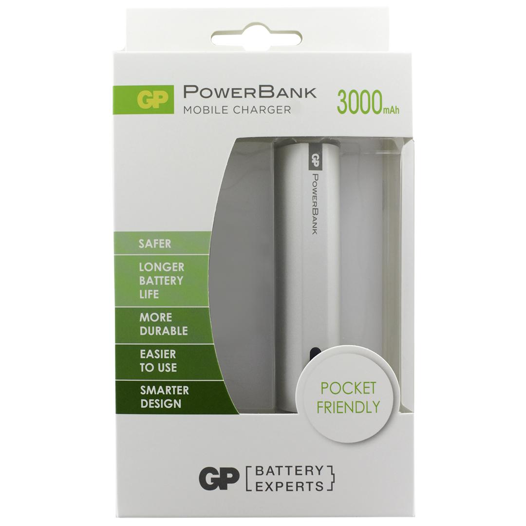 GP Внешний аккумулятор 3000 мAч st55 аккумулятор для мобильника купить в москве