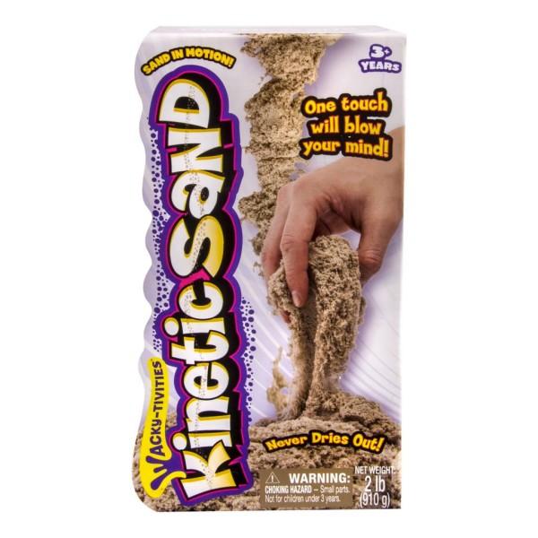 Купить со скидкой Песок для лепки, Kinetic sand, коричневый, 910 гр.