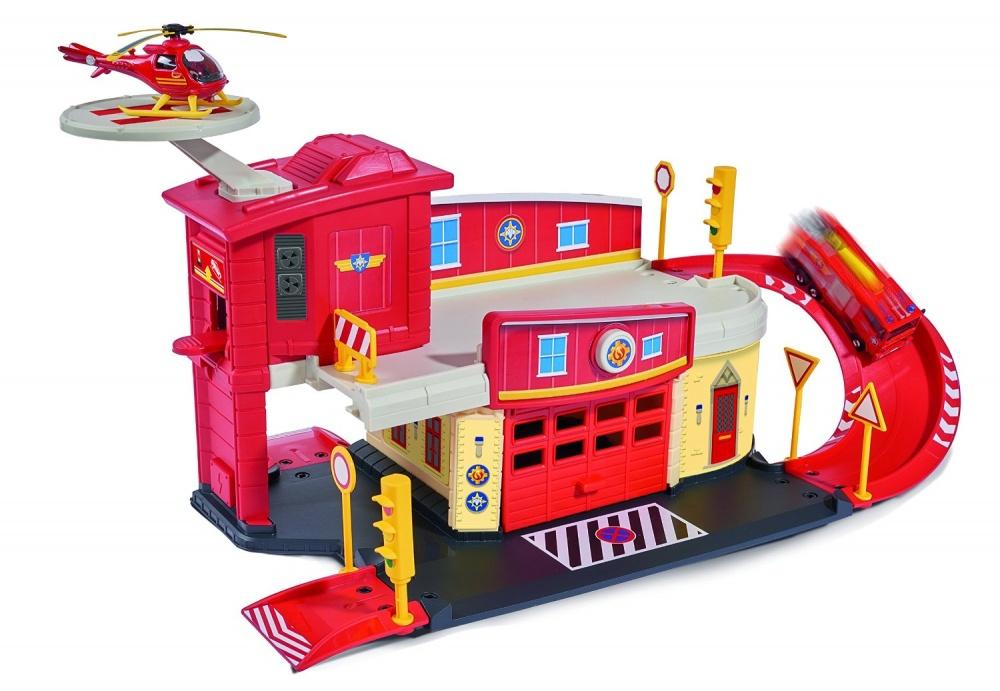 Купить Игровой набор Пожарный Сэм с вертолетом, 1:64