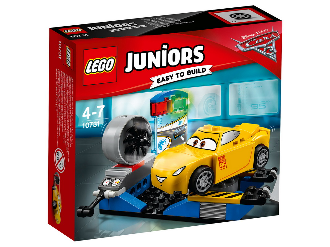 """Купить со скидкой Конструктор Lego Juniors """"Гоночный тренажёр Крус Рамирес"""""""
