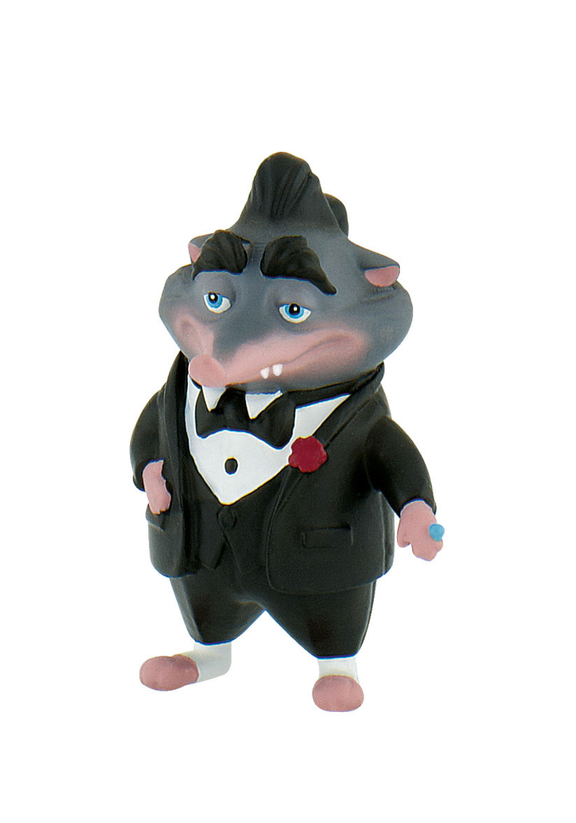 Фигурка Зверополис - Крот Мистер Биг, высота 5.5 смФигурка Мистера Бига выполнена из специального каучука и окрашена в точности, как герой мультфильма Зверополис. Мультфильм завоевал сердца миллионов детей и взрослых, а один из главных персонажей стал для многих любимым персонажем. Мистер Биг одет в классический костюмчик черно-белого цвета и смотрит так, будто его ничто не беспокоит.В мультфильме крот играет роль босса, в подчинении которого находятся огромные медведи. Это отличный пример того, что в жизни можно всего добиться не взирая ни на что.<br>