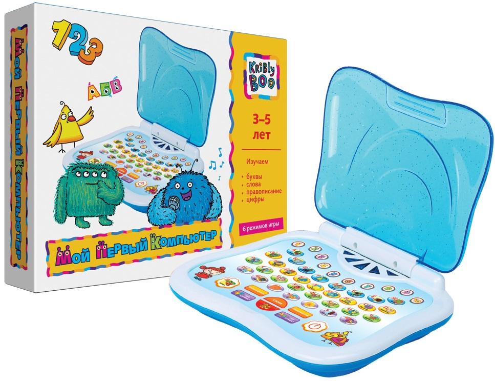 Интерактивная игрушка Kribly Boo Мой первый компьютер kribly boo мягкая игрушка песик спорт 4 сказки